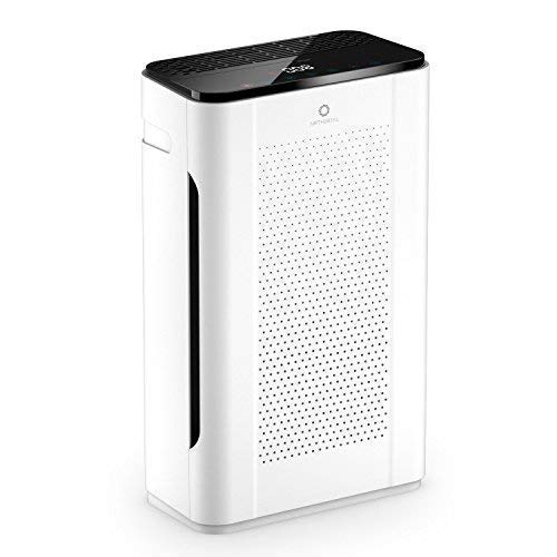 Airthereal Pure Morning APH260 Purifier with 7-in-1 True HEPA Filter Air Cleaner Odor Eliminators for Large Rooms, Allergies, Pets, Smoke and Dust, CARB & ETL Certified,152+ CFM, 355 sf, White
