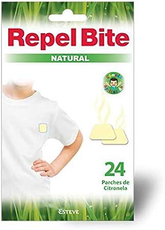 REPEL BITE NATURAL 24 parches repelentes CITRONELA. Protección más natural. Acción hasta 8-12 horas. Para niños y adultos con la piel más sensible.: Amazon.es: Salud y cuidado personal