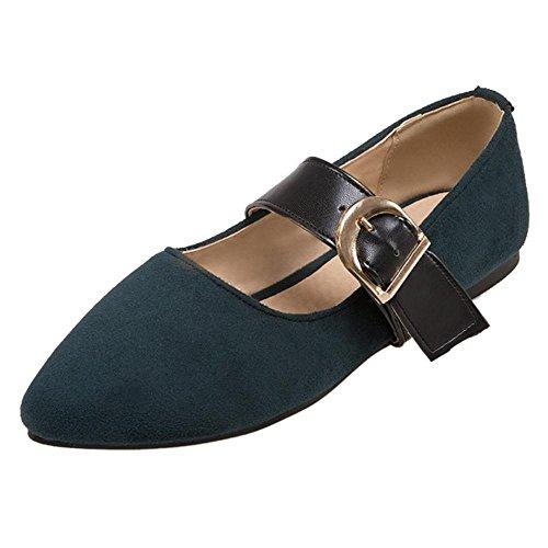 Kengät Taoffen Naisten Tummanvihreä Mary jane qTAZwAX