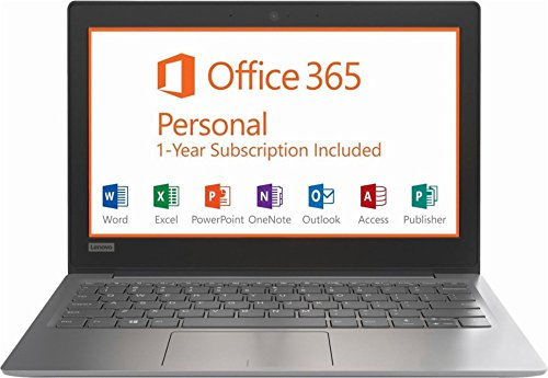Lenovo Ideapad 210s 11.6 inch HD Flagship Laptop (2018 Edition)| Intel Celeron N3350 Dual-Core up to 2.0GHz| 2GB RAM| 32GB eMMC | Windows 10| Office 365 Personal