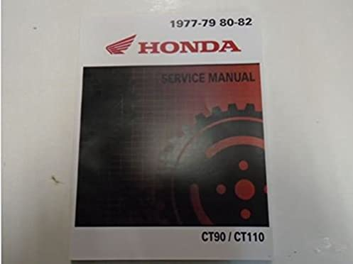 1980 Honda Ct110 Manual - Wiring Diagram •