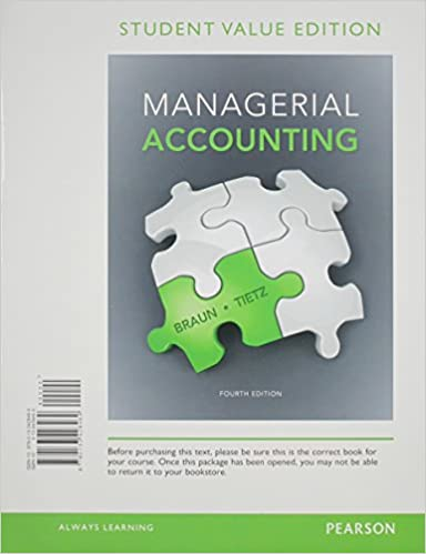 Managerial accounting student value edition 4th edition karen w managerial accounting student value edition 4th edition 4th edition fandeluxe Gallery
