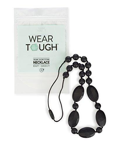 Baby Teething Necklace Olivia Black