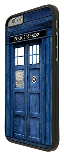 567 - Doctor Who Tardis Police Call Box Design iphone 6 6S 4.7'' Hülle Fashion Trend Case Back Cover Metall und Kunststoff - Schwarz
