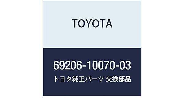 Genuine Toyota 69206-10070-03 Door Handle Assembly