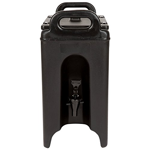 TableTop King 250LCD110 Camtainer 2.5 Gallon Black Insulated Beverage ()
