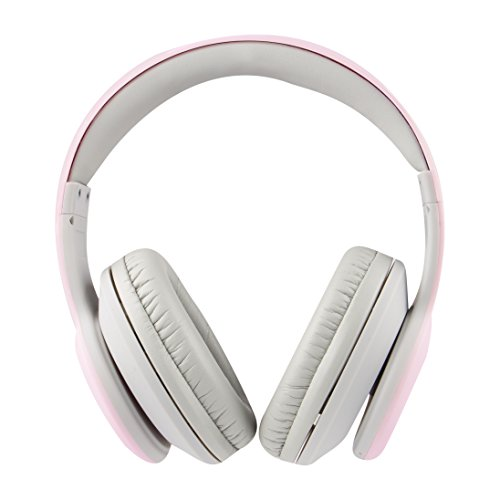 Lansing Iphone Altec (Altec Lansing MZX300-PNK Wireless Over Ear Bluetooth Headphones with Microphone, Pink)