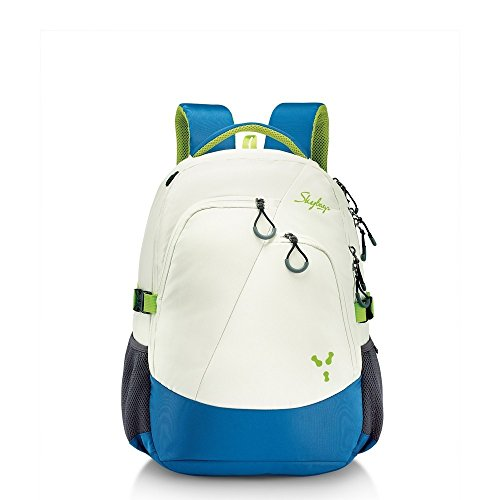 Skybags Crew 03 White 38 Ltrs laptop Backpack with Raincover