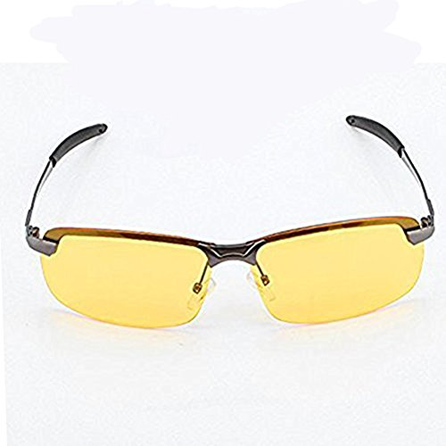 3f9a64f2cc6c Duco Night Vision Glasses Polarized Wrap Around Prescription Eyewear  DC-8953Y-02