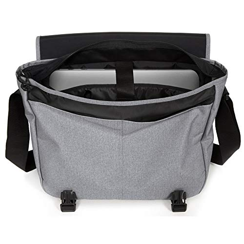 Eastpak Delegate + Messenger Bag, 39 cm, 20 liters, Grey (Sunday Grey)
