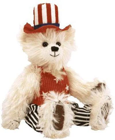 """Ty The Attic Treasures Collection """"UNCLE SAM"""" THE BEAR"""