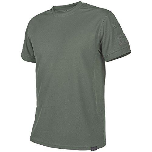 (HELIKON-TEX Men's Tactical T-Shirt Foliage Green Size L )