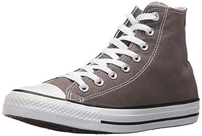 Converse Unisex-Adult Chuck Taylor All Star Low Top (International Version) Grey Size: 10 M US Women / 8 M US Men