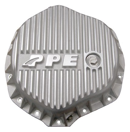 PPE HEAVY DUTY REAR ALUMINUM DIFFERENTIAL COVER RAW GM & DODGE W/ 11.5