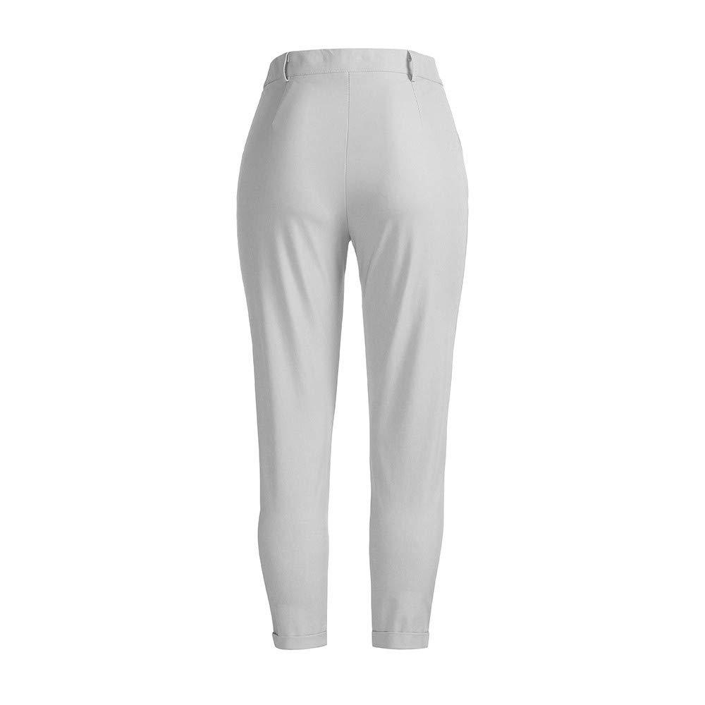 Rawdah/_Pantalones Hombre Jogger Pantalones De Hombre Pantalones de ch/ándal para Hombres Pantalones Deportivos El/ásticos Ocasionales Bolsos Holgados Holgados Pantalones Pantal/ón