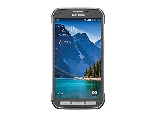 "Samsung GS5 Active 5.1"" Certified Pre-Owned Prepaid Carrier Locked Phone - 16 GB - Silver (AT&T)"
