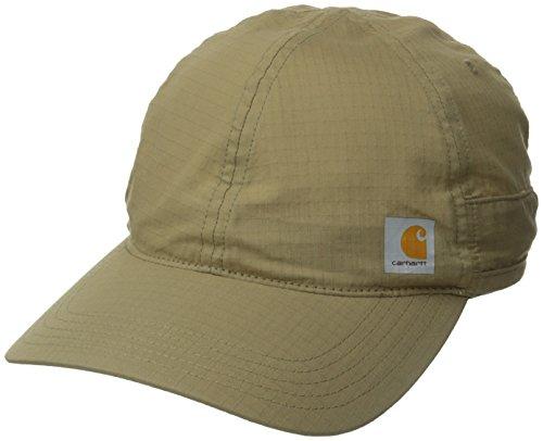 carhartt-mens-moisture-wicking-force-mandan-cap-stain-blockerdark-khakione-size