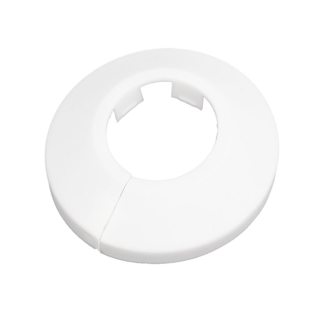 uxcell 25mm Plastic Wall Flange Radiator Water Pipe Cover Collar White