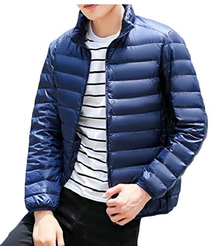 TTYLLMAO Men's Ultra-Lightweight Packable Outwear Down Jacket Coat 2