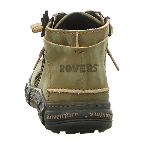 Rovers Traction - Botines de cuero mujer kiwi/negro