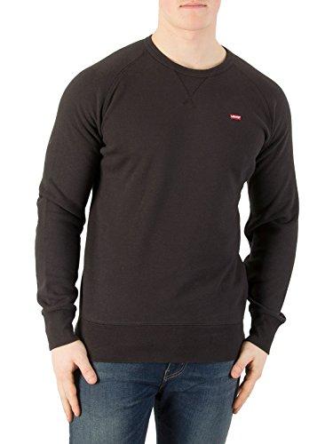 Levi's Men's Original Icon Sweatshirt, Black, - Originals Icons The