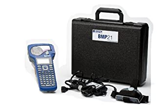 Brady BMP21 Label Printer Kit - Printer, Carrying Case, AC Adapter, and Multifunctional Tool