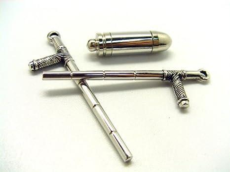 Amazon.com: CTMWEB Katekyo Hitman Reborn - Set of 7 Vongola Metal Rings with Weapons: Toys & Games
