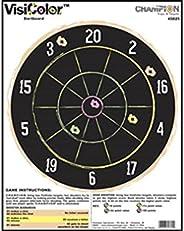Champion VisiColor High-Visibility Paper Targets, Dartboard - 10pk
