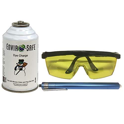 0F UV Glasses & Blacklight Kit and Dye Charge (Dye Auto)
