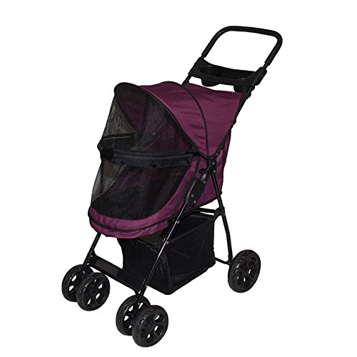 Pet Gear No-Zip Happy Trails Lite Pet Stroller 41iyvtLuMWL