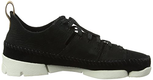 Nubuck Femme Flex Noir Baskets Basses Clarks Originals Trigenic Black 6qw118