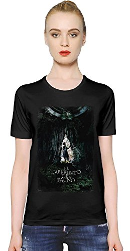 Pans Labyrinth Alone In The Dark Women T-Shirt Girl Ladies Stylish Fashion Fit Custom Apparel By Slick Stuff XX-Large