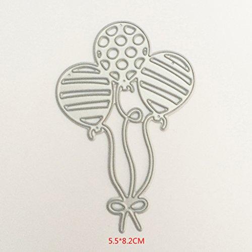 Yeahii Balloon Cutting Dies Stencil DIY Scrapbooking Embossing Album Paper Card Crafts by Yeahii (Image #8)