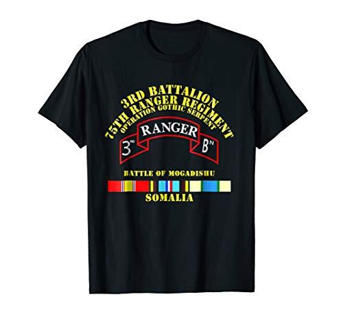 3rd Battalion - 75th Ranger Regiment - Mogadishu Tshirt