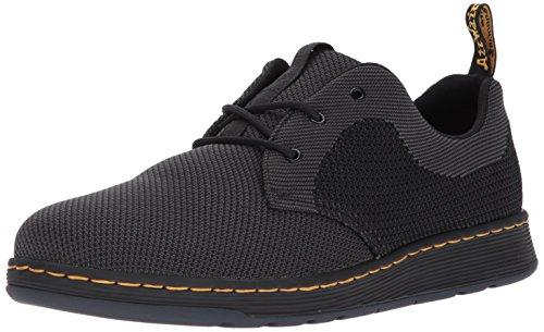 Cavendish Anthracite Zapatos Dr Negro Martens Knit Eqxq1tvn
