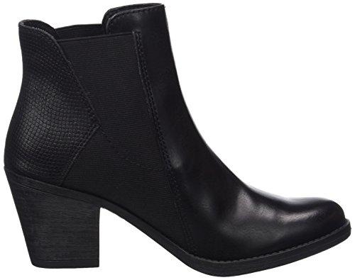 Marco Tozzi Women's 25314 Chelsea Boots Black (Black Ant.comb) oNL467lI