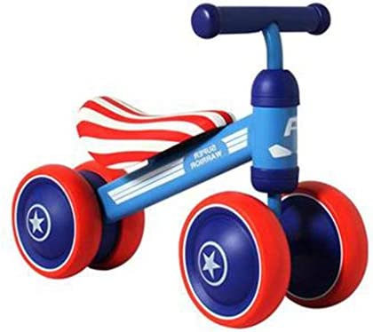 FFAJ Coche sinuoso para niños 1-2 años de Edad Baby yo Scooter de ...