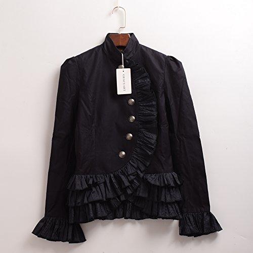Corsé Sport Graceart Camisa Mujeres Victoriano Chaqueta De Pq0FA