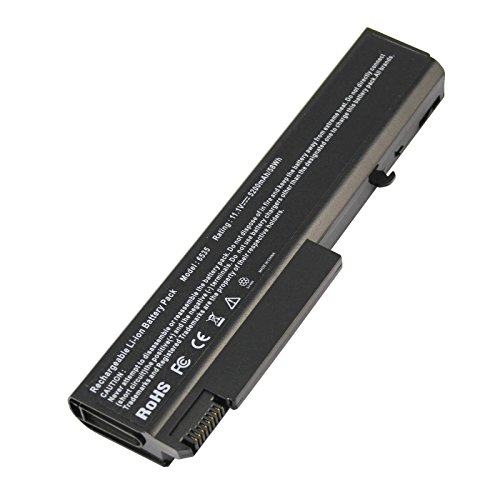AC Doctor INC Laptop Battery for HP EliteBook 6930p 8440p 8440w Compaq 6530b 6535b 6730b 6735b ProBook 6440b 6450b 6540b 6550b, 5200mAh/11.1V/6 Cell (Elitebook 8440p Battery)