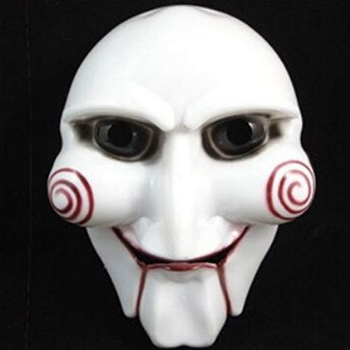 SaveStore Creepy Puppet Halloween Mask Maske Masque Horreur Halloween Decoration Bachelorette Party Craft Supplies Helloween Decoracion -