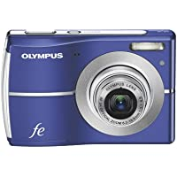 Olympus FE-45 10MP Digital Camera with 3x Optical Zoom and 2.5-inch LCD (Navy) Basic Facts Review Image