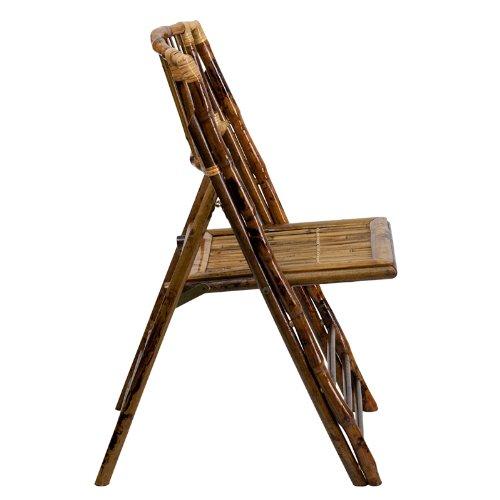 American Champion Bamboo Folding Chairs-Set of 2