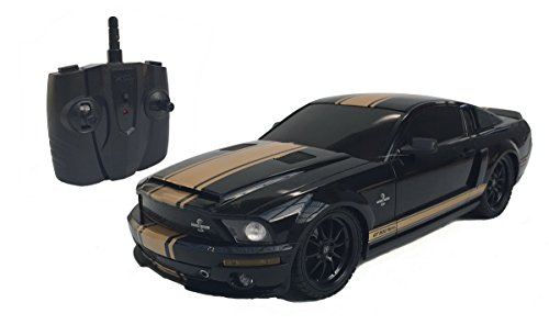 1:18 Licensed Shelby Mustang GT500 Super Snake Electric RTR Remote Control RC Car (Black)