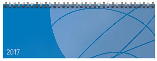 Tischquerkalender Professional Colourlux blau 2017