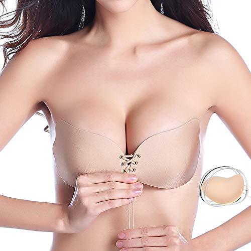 Adhesive Bra Invisible Strapless Bra Sticky Backless Bra Self Adhesive Bra Silicone Bra B