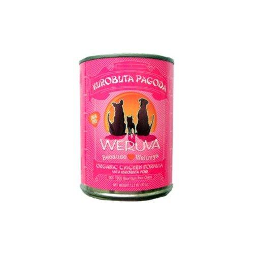 Weruva Kurobuta Pagoda Organic Chicken Formula Canned Dog Food