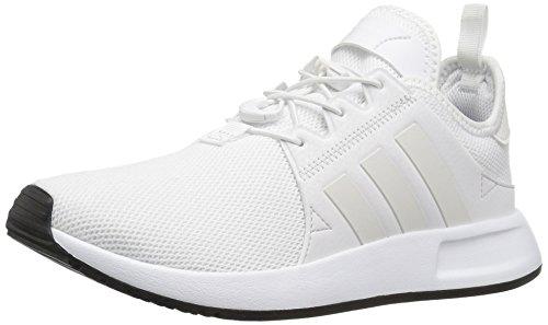 adidas Originals Kids' X_PLR J Sneaker, White/White/Vintage White ST, 5 M US Big Kid