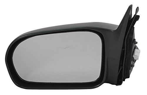 Side View Power Mirror Black Driver Left LH for 01-05 Civic 4 Door Sedan