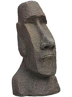 Steinfiguren Horn Wasserspeier Froschkönig aus Bronze, für Garten ...