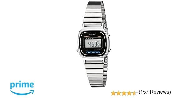 a0070e48f0dd Casio Women s LA670WA-1 Daily Alarm Digital Watch  Casio  Amazon.ca  Watches